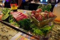 Ahi Poke: original hawaiianischen Thunfischsalat mit rohem Thunfisch selber machen