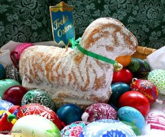 Backideen zu Ostern: Ein Osterlamm backen