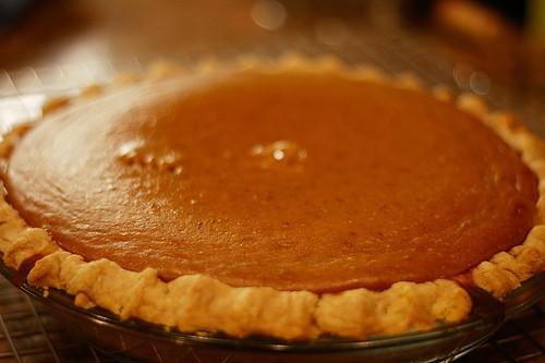 Original Amerikanischen Kurbiskuchen Pumpkin Pie Selber Machen