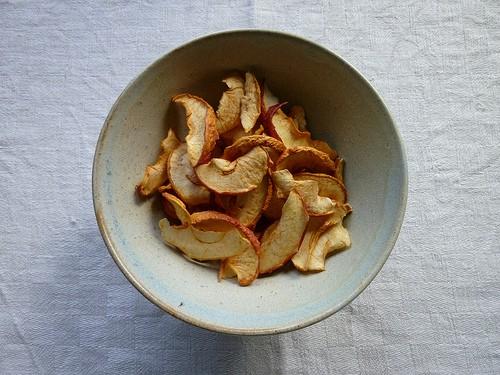 Relativ Apfelringe im Backofen trocknen - ein leckerer und gesunder Snack KP89