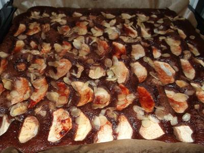 unglaublich leckeren apfel schokoladen kuchen selber machen himmlisch lecker. Black Bedroom Furniture Sets. Home Design Ideas