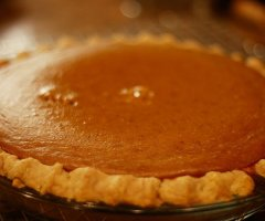Original amerikanischen Kürbiskuchen (Pumpkin Pie) selber machen - ein Rezept für Leckerschmecker