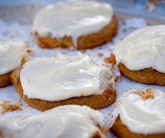 Kürbis-Marzipan-Kekse selber machen - zart und mürbe